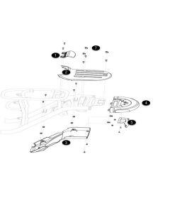 NIU UQI GT (F12) Tail Light