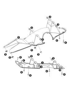 NIU MQI+ (F13) Rear Undertrays