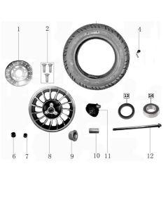 Sinnis Jet 2 (F13) Front Wheel