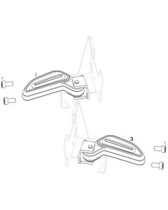 NIU NQI GT (F15) Passenger Footpegs