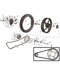 SP125 (15) Rear Wheel