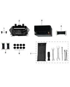 Sinnis Akuma 125 (Z16) Battery