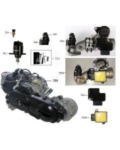 Sinnis Zen 125 (F18) Engine