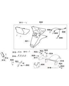 Sinnis Shuttle 125 (EFI) (F19) Tail Light