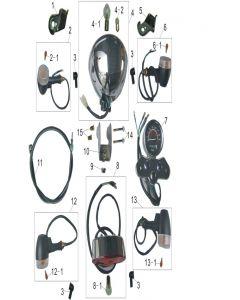 Heist 125 (F01) Lights/Speedometer