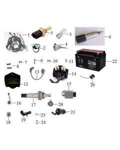 Sinnis Jet 2 (F22) Electrical
