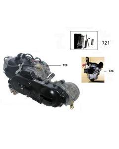 Sinnis Street 50 (Pre Euro 4) (F22) Engine