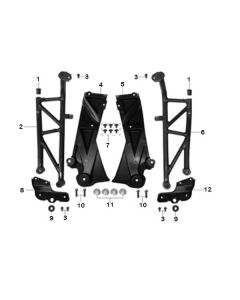 Sinnis Akuma 125 (Z23) Trellis Frame