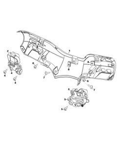 NIU MQI+ (F02) Rear Handlebar Cover