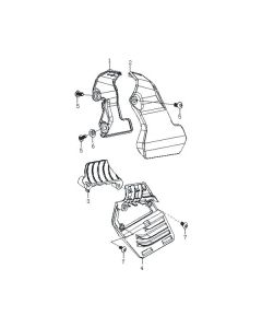 Aquila 125 (F39) Frame Cover Front