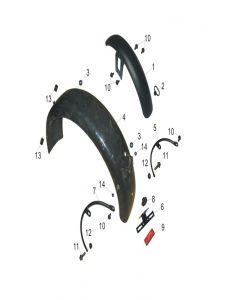 Heist 125 (F03) Fenders
