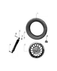 Sinnis Jet 2 (F05) Rear Wheel