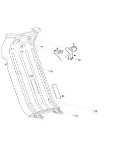 NIU UQI GT (F06) Leg Shield