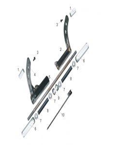Heist 125 (F06) Footrests/Pedals