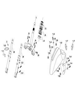 Sinnis Matrix 3I (F07) Front Forks