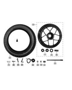 Sinnis Akuma 125 (Z08) Front Wheel