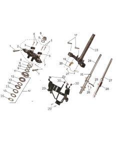 SP125 (08) Forks