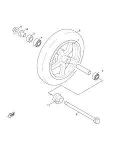 Sinnis Hero 125 (F9) Front Wheel