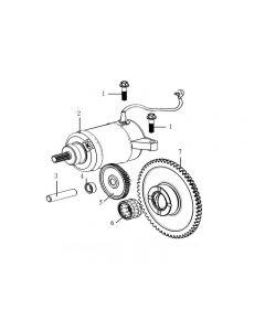 Z157FMJ-2 (Z11) Starter Motor