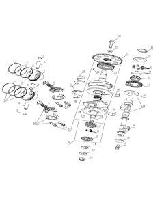 TC380R (Z11) Crankshaft/Piston