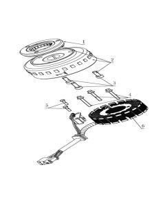 TC380R (Z14) Stator/Flywheel