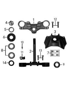 Sinnis RSX 125 (Z15) Steering Stem