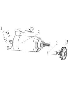 TC380R (Z15) Starter Motor