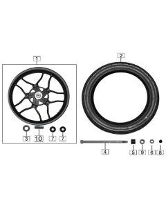 Sinnis Terrain 125 (Z20) Front Wheel