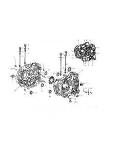 Z157FMJ-2 (Z06) Crankcase