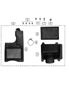 Sinnis Terrain 125 (Z06) Air Box